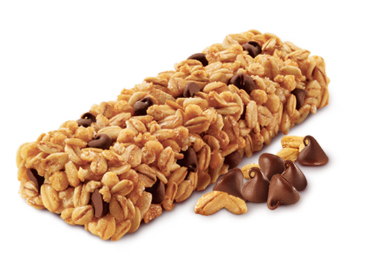 Eat your granola bars to get your calcium Quaker Granola Bars Nutrition Facts