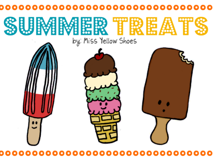 Summer Treat Bookmarks