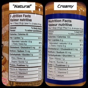 Natural Pb Vs Regular