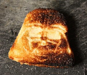 Darth Toast photo by Wendy Copley on Flickr
