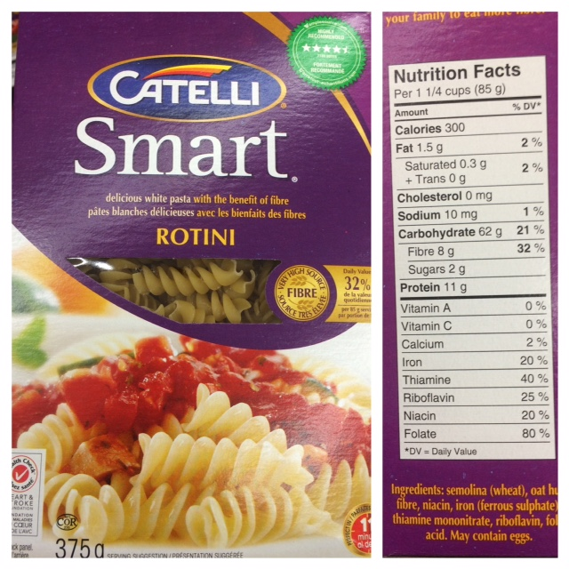 Grocery Store Lessons Catelli Supergreens Pasta