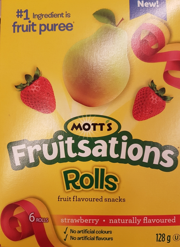 Grocery Store Lessons: Mott's Fruitsations Rolls