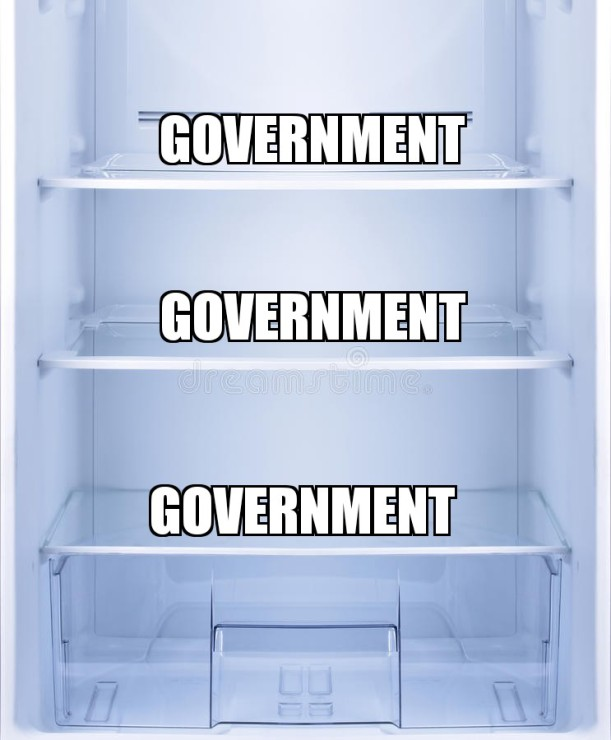 So you don't want the government in your kitchen